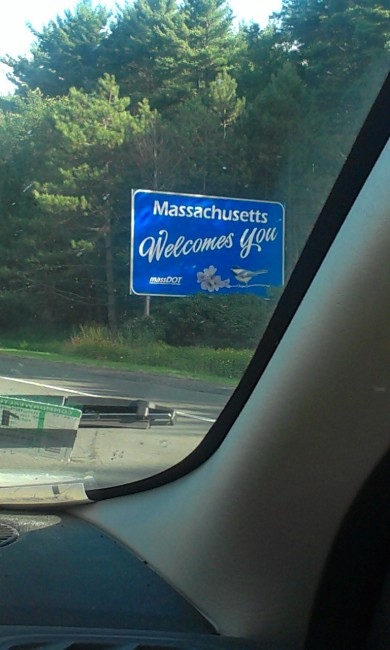 First time going back to MA in 25 years