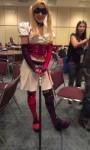 Sweet Harley Quinn cosplay