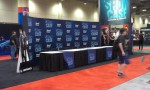SHOWCASE meet-n-greet area for their celebs