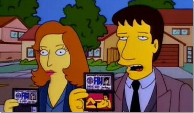 Simpsons-X-FIles