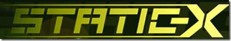 static-x logo