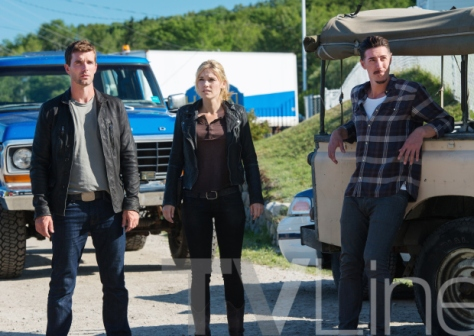 """HAVEN -- """"New World Order"""" Episode 514 -- Pictured: (l-r) -- (Photo by: Mike Tompkins/Haven 5 Productions/Syfy)"""