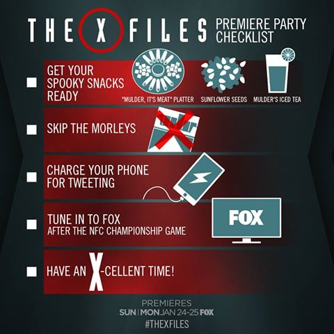 """The X-Files"" View Party List"